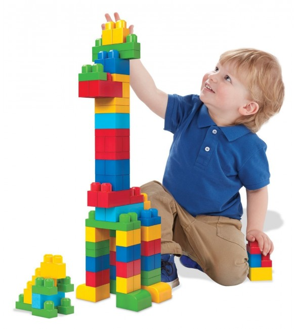 Mega Bloks First Builders Big Building Bag, 80-Piece