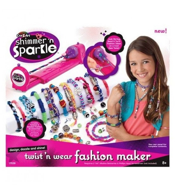 Cra-Z-Art Shimmer 'N Sparkle Twist 'N Wear Fashion Maker