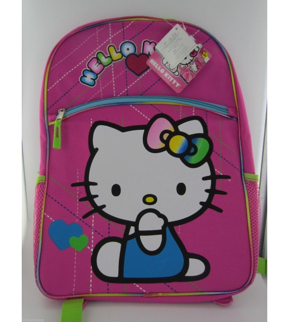 NEW Hello Kitty Backpack - Pink 41 cm