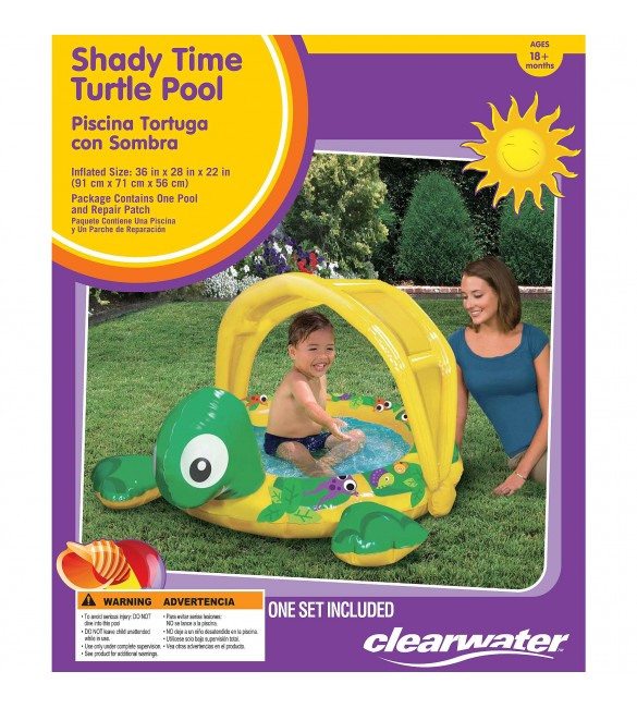 ClearWater Shady Time Canopy Pool - Turtle