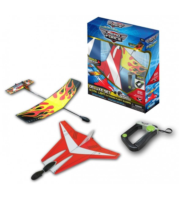 AERO FORCE DLX 2PLANEACK WITH LAUNCHER