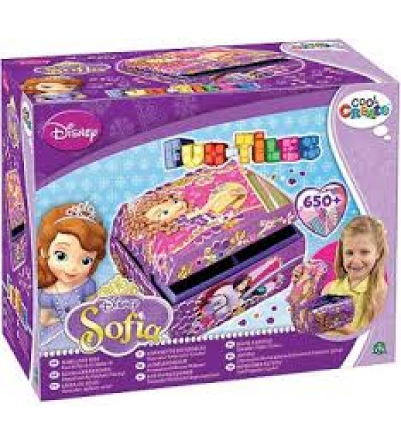 FUN-TILES - PRINCESSES SOFIA JEWELRY BOX