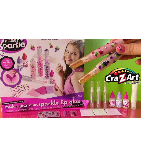 Cra-Z-Art Shimmer 'n Sparkle Lip Gloss Kit