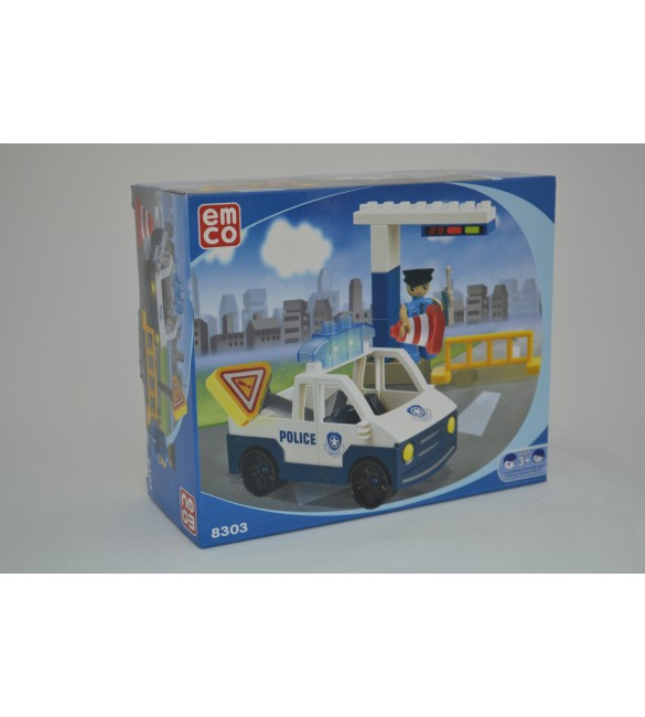 EMCO PRESCHOOL - POLICE TRAFFIC SET - 14 PCS