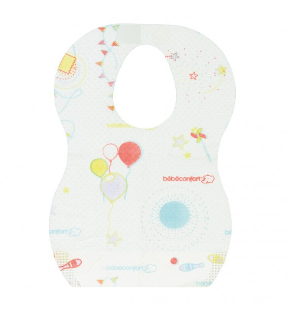 Bébé Confort Disposable decorated bibs