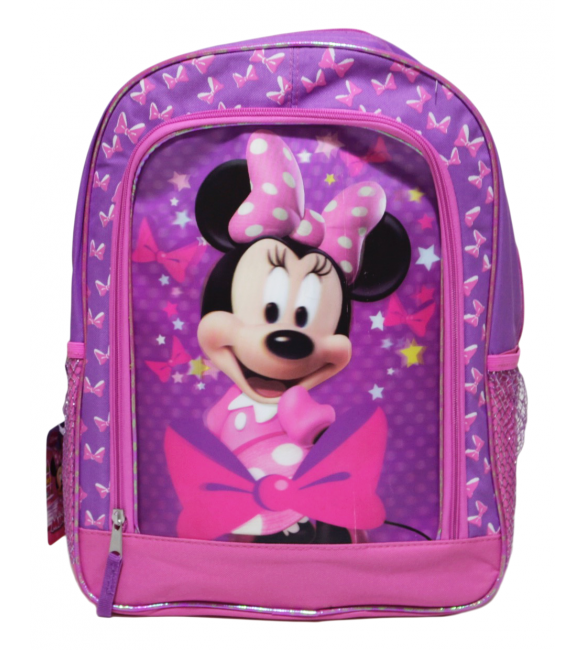 Minnie Mouse Bow-Tique Backpack ~ Pink & Lavender 41 cm