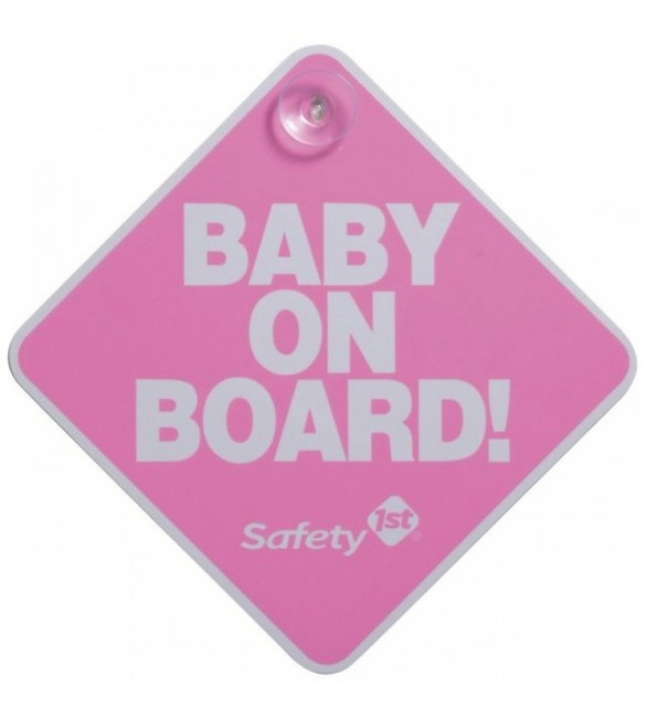 SAFETY 1ST baby on board - pink