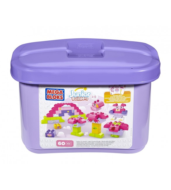 Building Blocks Build-a-Story 60 piece Tub