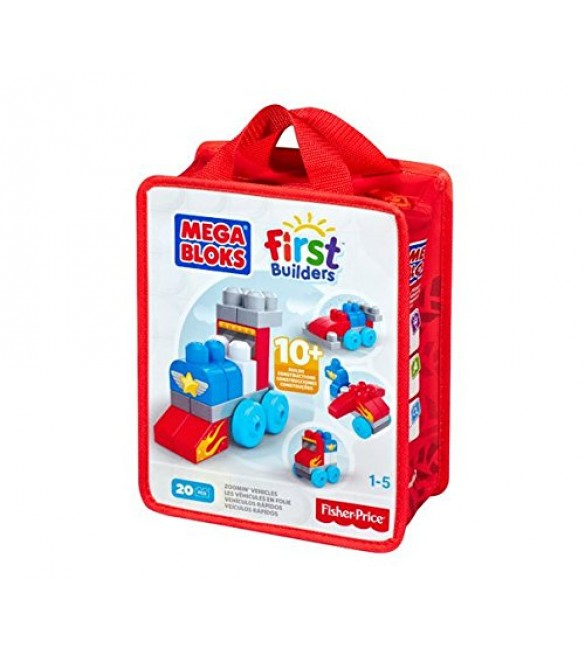 Mega Bloks A Bag Constructs and Learn Building Blocks