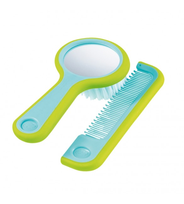 Bébé Confort's brush & comb with mirror.