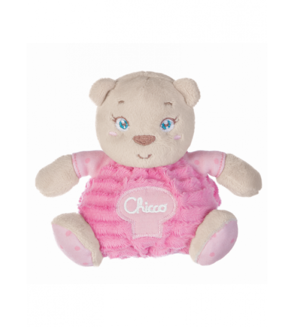 Chicco - Plush Bear Maxi- pink (with gift box)