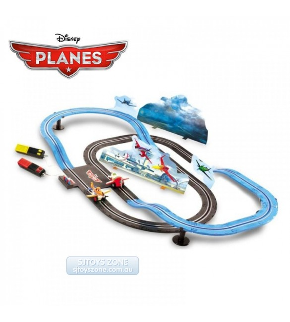 Disney Planes Racing In The Sky Slot Car Battery Track
