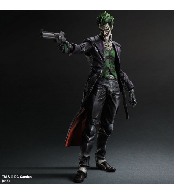 Batman Arkham Origins Play Arts Kai The Joker Action Figure