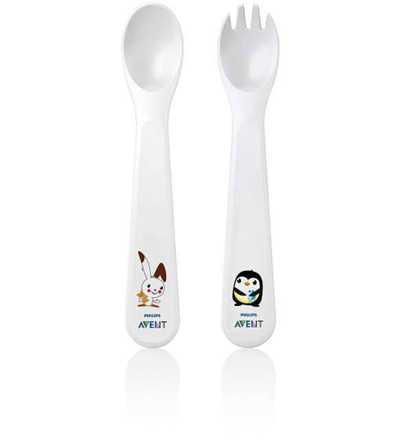 Avent  fork and spoon