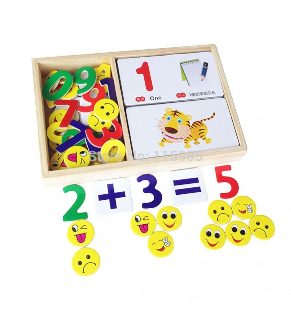 digital learning box toy Card puzzles