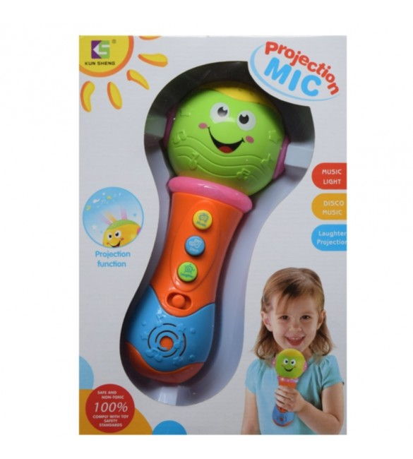 Toygully Projection MIC with Lots of Music