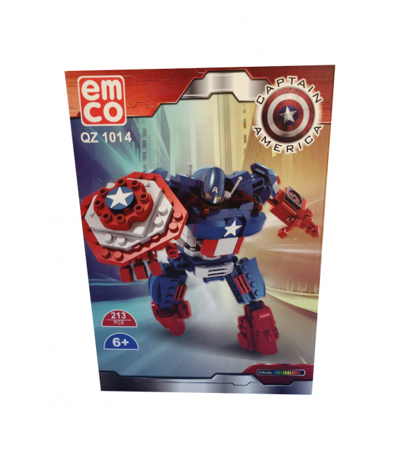 EMCO CAPTAIN AMERICA 213 PCS