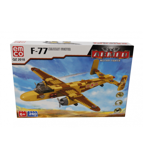 EMCO F-77 MILITARY FIGHTER 260 PCS