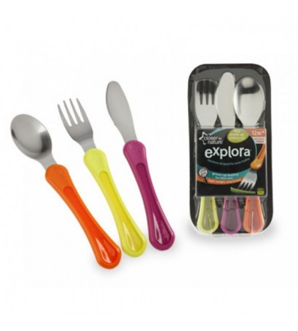 Tomme Tippee First Grown Up Cutlery Set