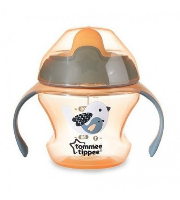 Tommee Tippee First trainer cup 4m+ orange