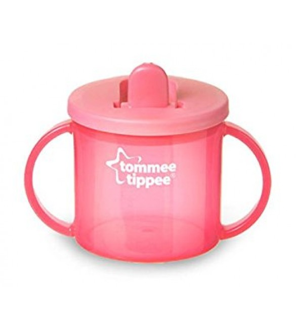 Tommee Tippee Essentials First Cup 4m-pink