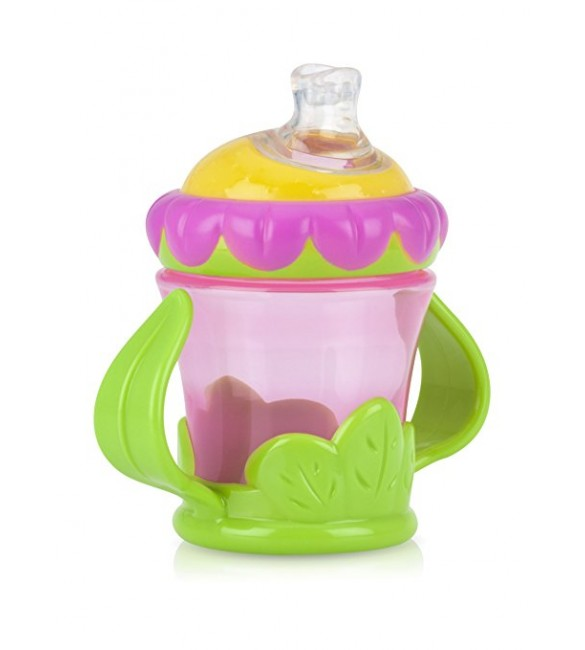 Nuby flower child twin handle cup