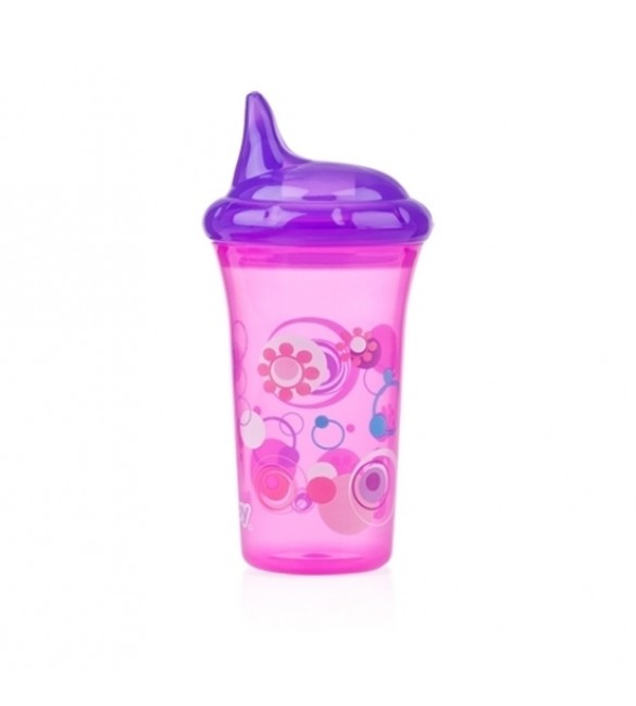 Nuby No-Spill™ Hard Spout Cup - Pink