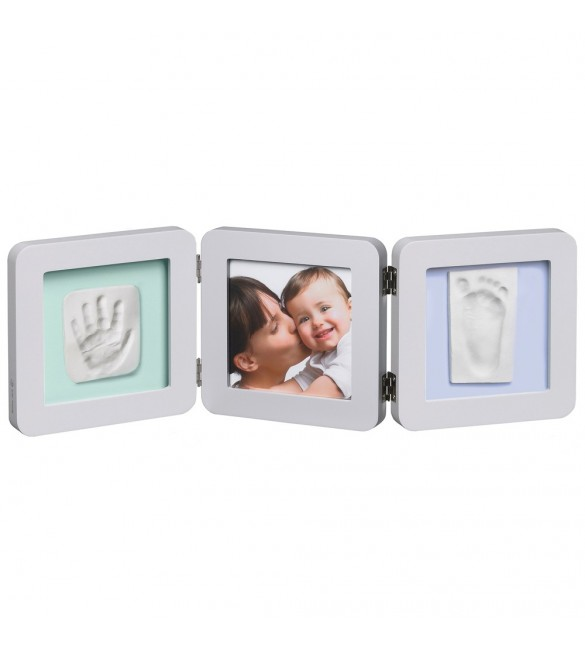Baby Art My Baby Touch 2 Print Frame - White