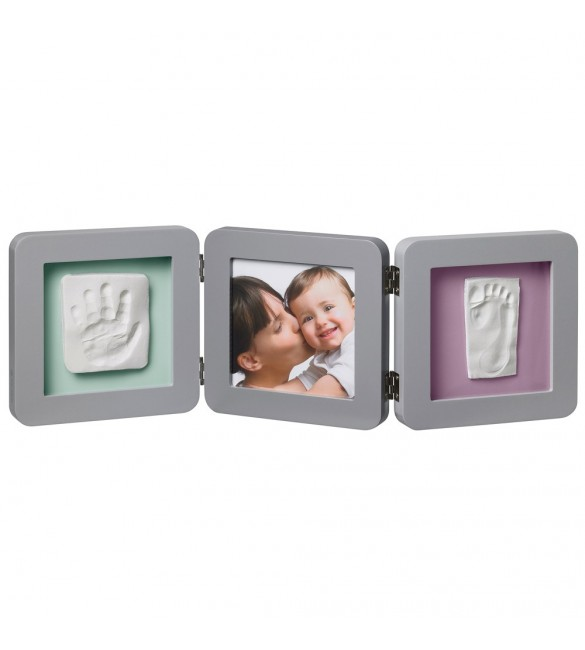 Baby Art My Baby Touch 2 Print Frame - Grey