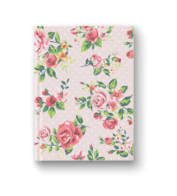 FRENCH ROSE DAFTAR ( 20x15 cm) Hardcover