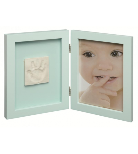 Baby Photo Frame With Baby Print Menthol