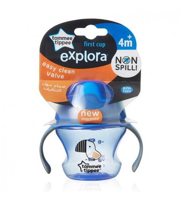 Tommee Tippee - First Trainer Cup 150ml (4m+) -Blue