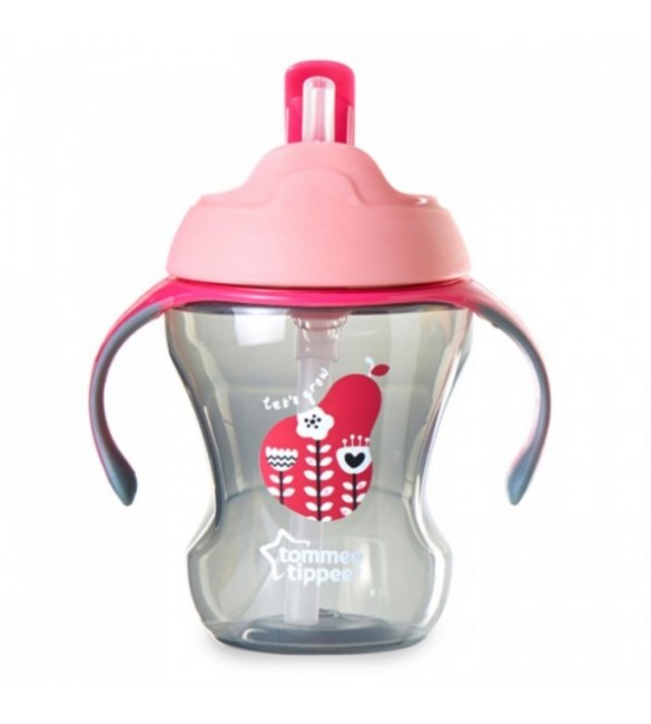 Tommee Tippee Easy Drink Straw Cup-Pink
