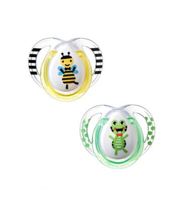 Tommee Tippee SOOTHER FUN STYLE X2-Yellow