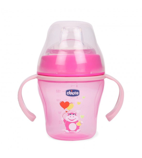 Chicco Soft Cup Pink (6m+)