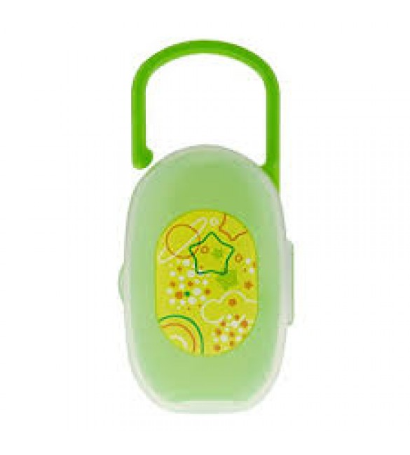 Chicco Soother Holder 0m+ -Green