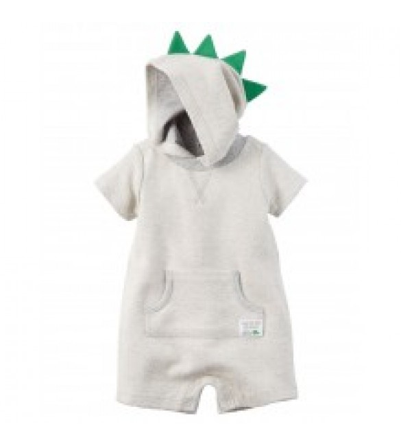 Carter's Hooded French Terry Romper