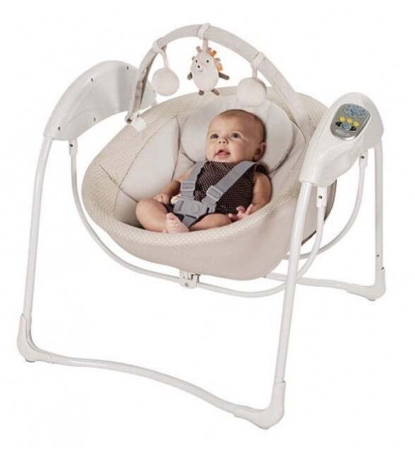 Graco Glider Swing in Nutmeg and Spike