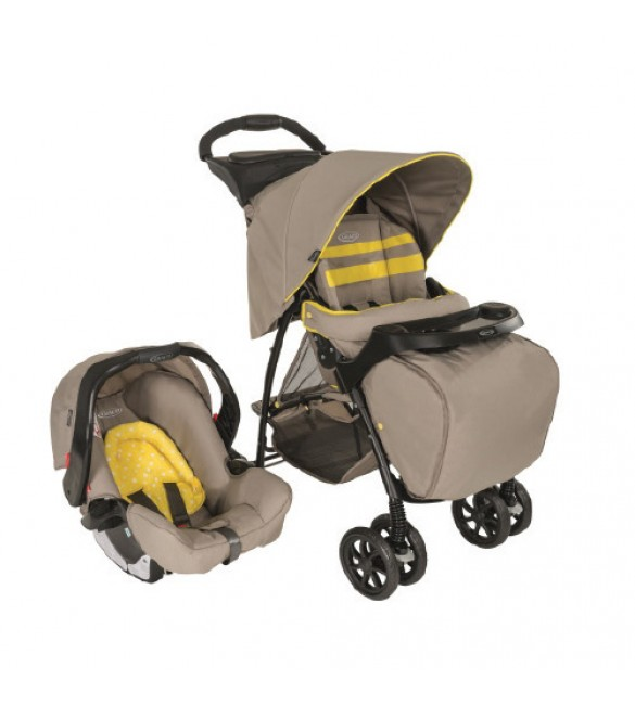 Graco Travel System Mirage Plus-neon sand