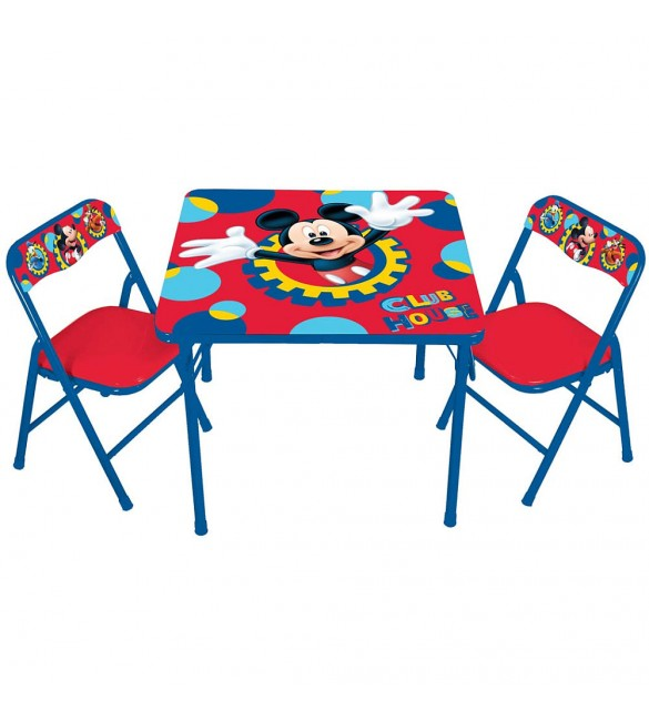 Disney Mickey Mouse Activity Table and Chairs Set