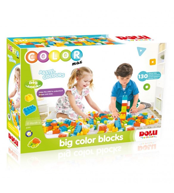 Dolu Big Colored Blocks-130