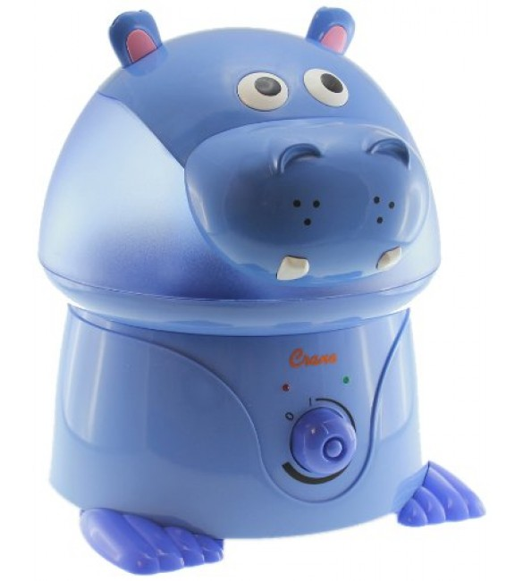 Crane Adorable Ultrasonic Cool Mist Humidifier - Hippo