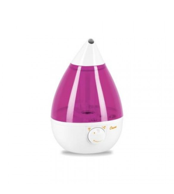 Crane Drop Ultrasonic Cool Mist Humidifier – (Orchid & White)