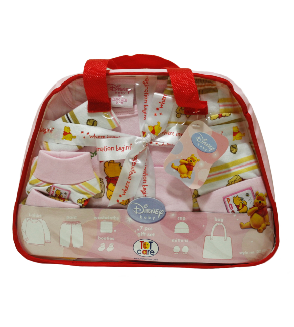 Winnie The Pooh And Friends (7 Pcs GIft Set)