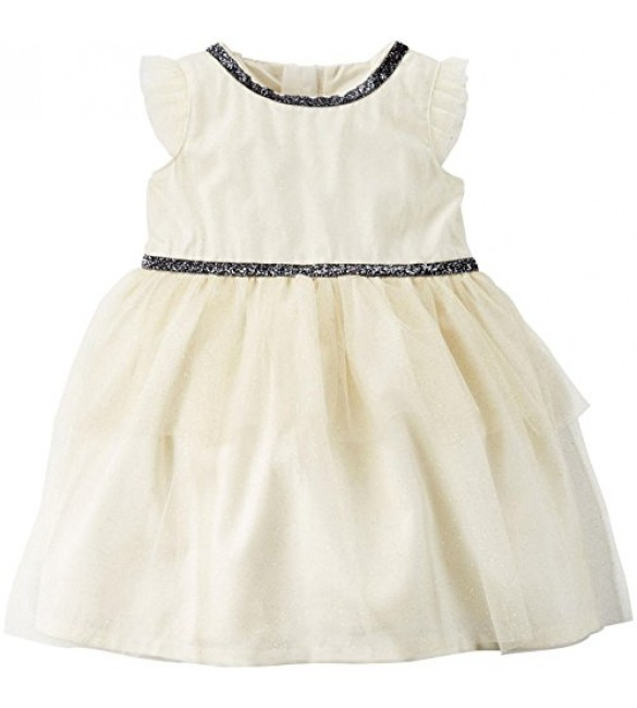 Carter's Sparkle Tiered Tulle Dress-3/6/9 M