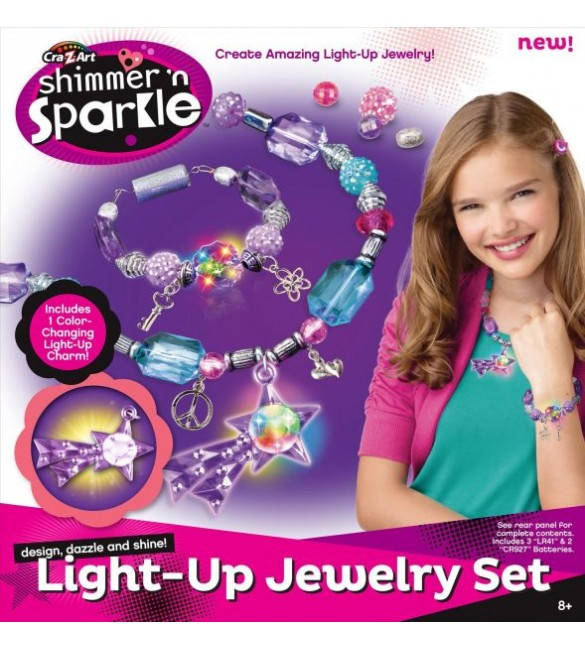 Cra-Z-Art Shimmer and Sparkle BRIGHT JEWELRY