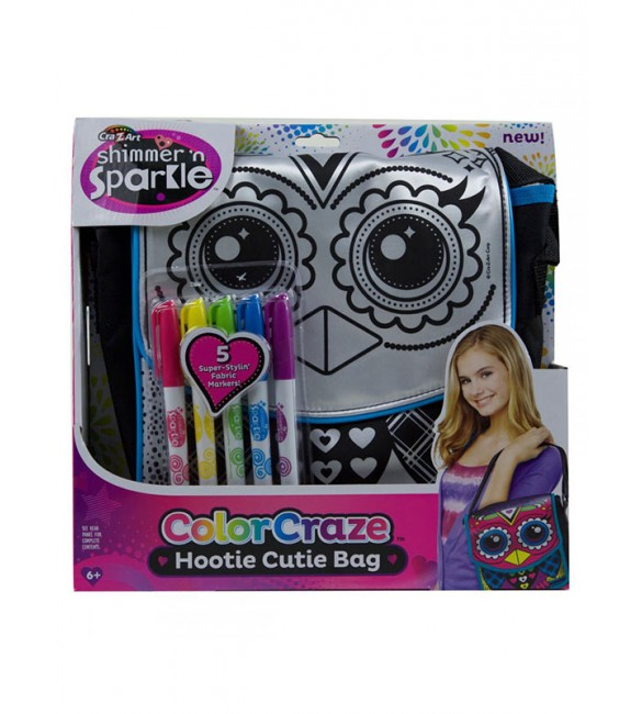 Cra-Z-Art SHIMMER N SPARKLE COLOR HOOTIE CUTIE BAG
