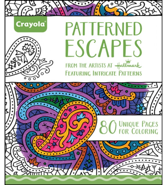 Crayola Adult Colouring Book - Pattern