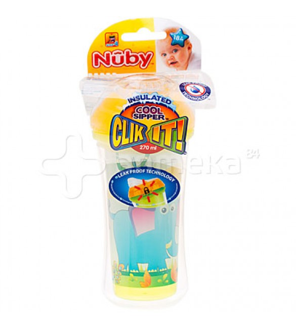 Nuby Insulated No-spill Clik-It Cool Sipper