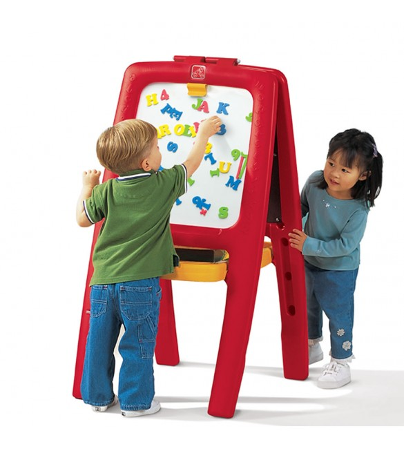 Step 2 Easel for Two Red